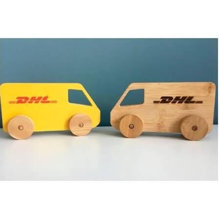Bamboe voertuig