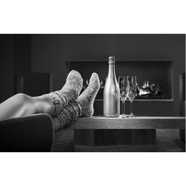 Hippe geitenwollen sokken